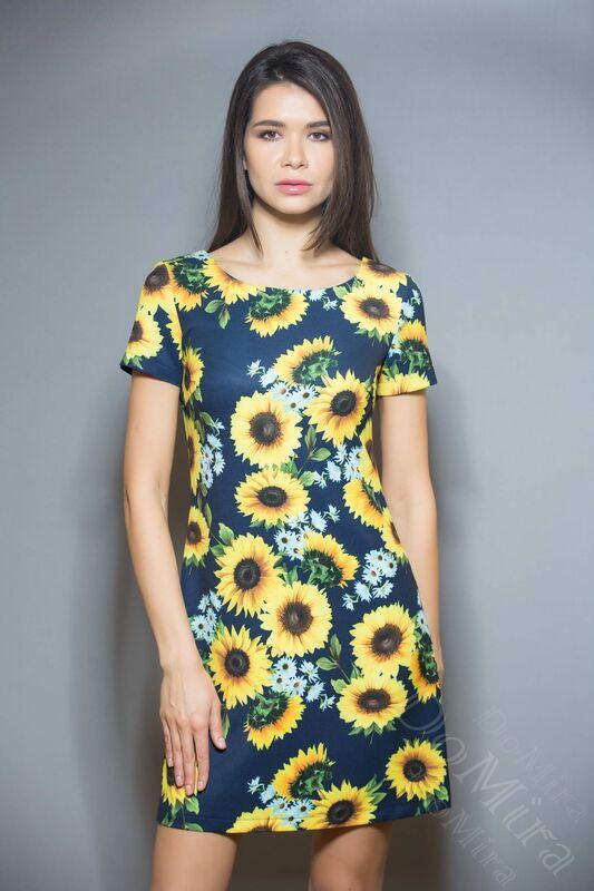 Платье женское DoMira Платье М-01-372 - фото 2