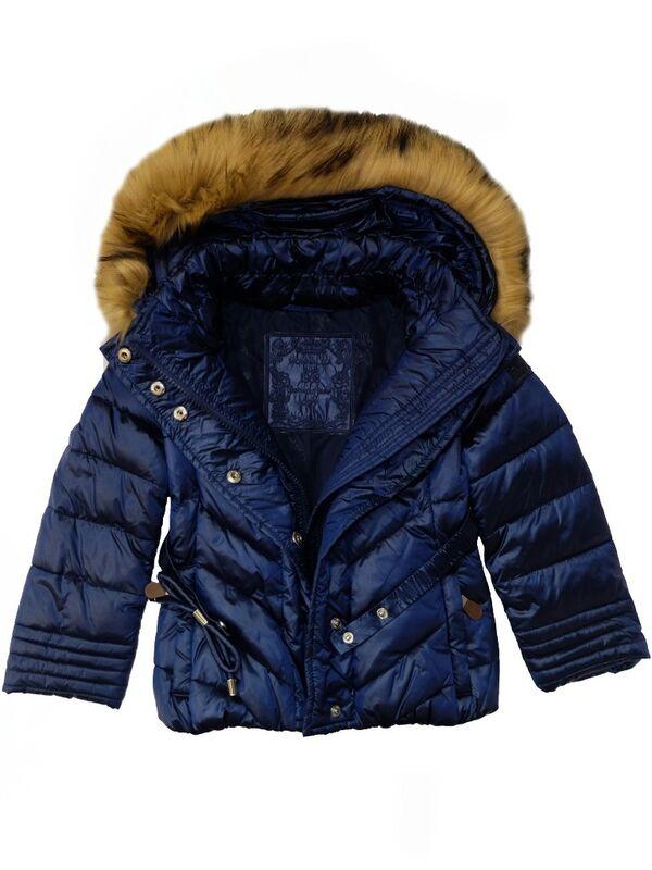 Верхняя одежда детская Monnalisa Куртка утепленная для девочки 196107FF 6026 0054 - фото 2
