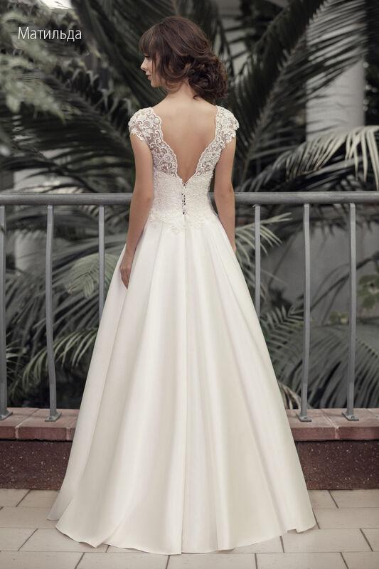 Свадебное платье напрокат Vintage Платье свадебное «Матильда» - фото 2