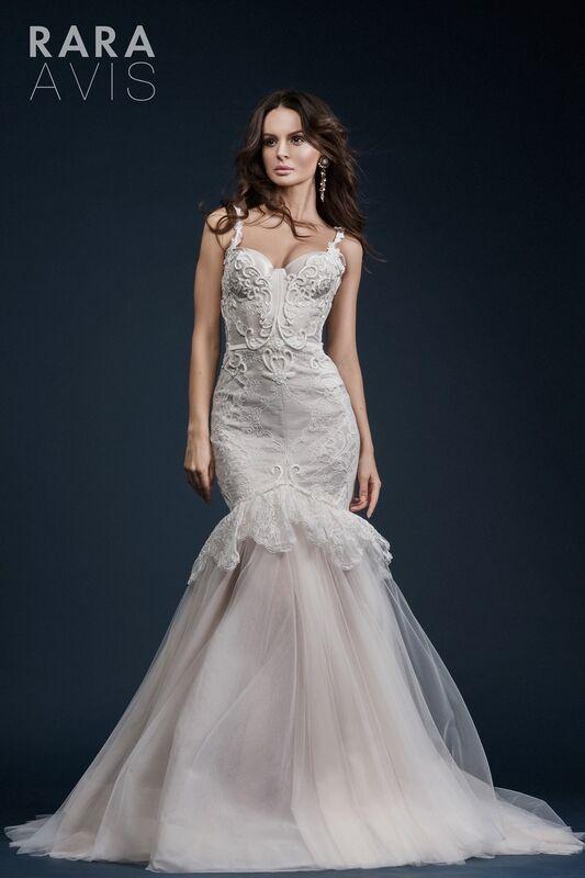 Свадебное платье напрокат Rara Avis Свадебное платье Gold - фото 2