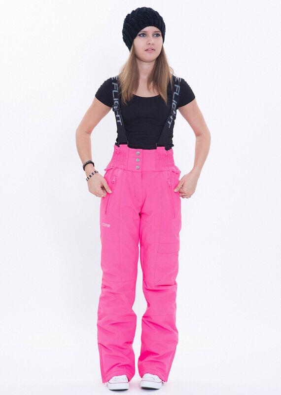 Спортивная одежда Free Flight Горнолыжные и сноубордические штаны розовые - фото 1
