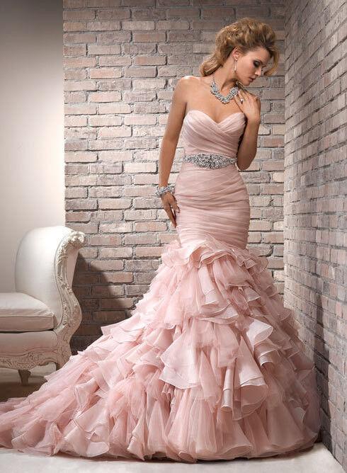 Свадебное платье напрокат Maggie Sottero Платье свадебное Divina - фото 1