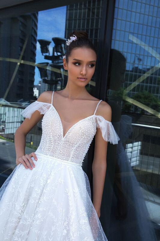 Свадебное платье напрокат Crystal Sunny - фото 3