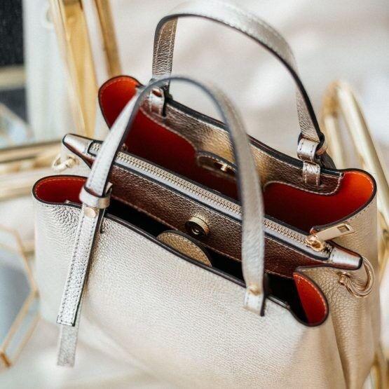 Магазин сумок Vezze Кожаная женская сумка C00514 - фото 3