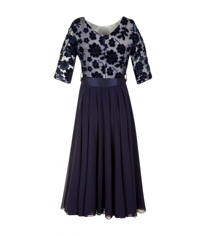 Платье женское Poza Платье Clara (гранатовое) - фото 2