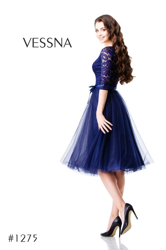 Вечернее платье Vessna Юбка и топ №1275 - фото 1