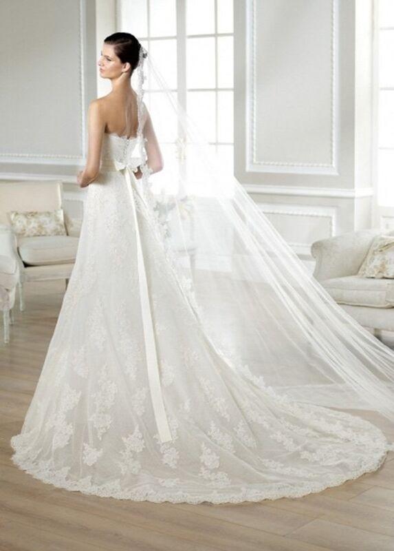 Свадебное платье напрокат White One (Pronovias) Платье свадебное «Jakobe» - фото 2