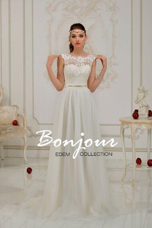 Свадебное платье напрокат Bonjour Платье свадебное «Lilu» из коллекции EDEM 2016 - фото 1