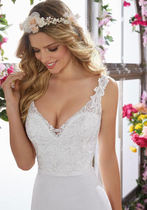 Свадебное платье напрокат Mori Lee Свадебное платье 6853 - фото 2