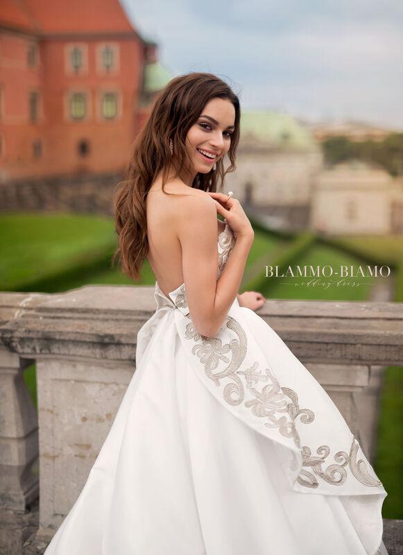 Свадебное платье напрокат Blammo-Biamo Платье свадебное The Rice Reinis - фото 4
