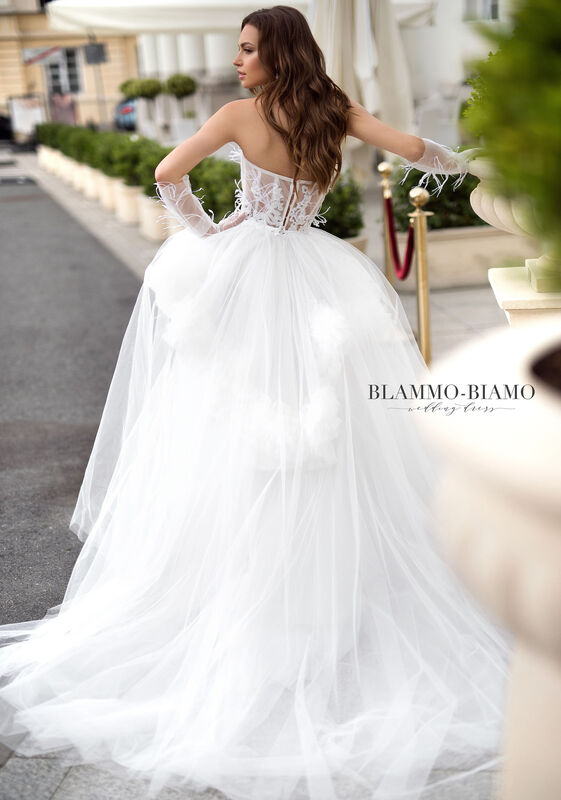 Свадебное платье напрокат Blammo-Biamo Платье свадебное The Rice  Irid - фото 2