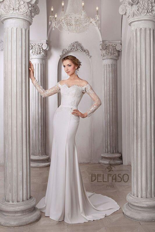 Свадебное платье напрокат Belfaso Платье свадебное Shantolie - фото 1