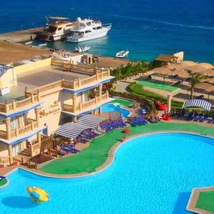 Туристическое агентство EcoTravel Пляжный авиатур в Египет, Хургада, King Tut Aqua Park Beach Resort 4* - фото 1