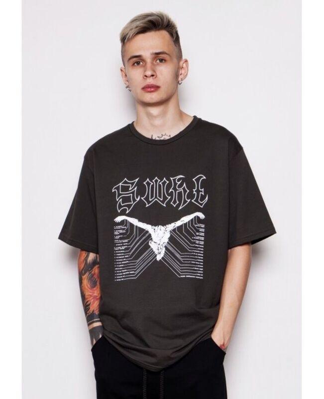 Кофта, рубашка, футболка мужская SoWhat Футболка «Пособие» SKU0093000 - фото 1