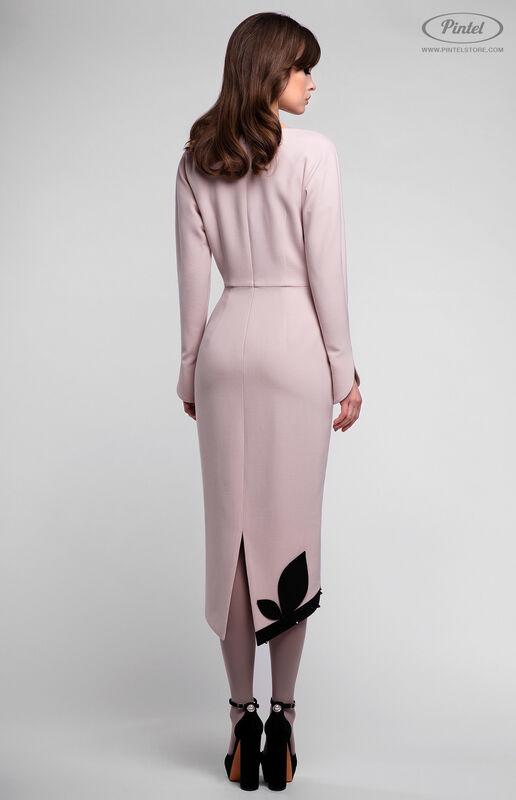 Платье женское Pintel™ Приталенное платье из натуральной шерсти Akeelia - фото 3