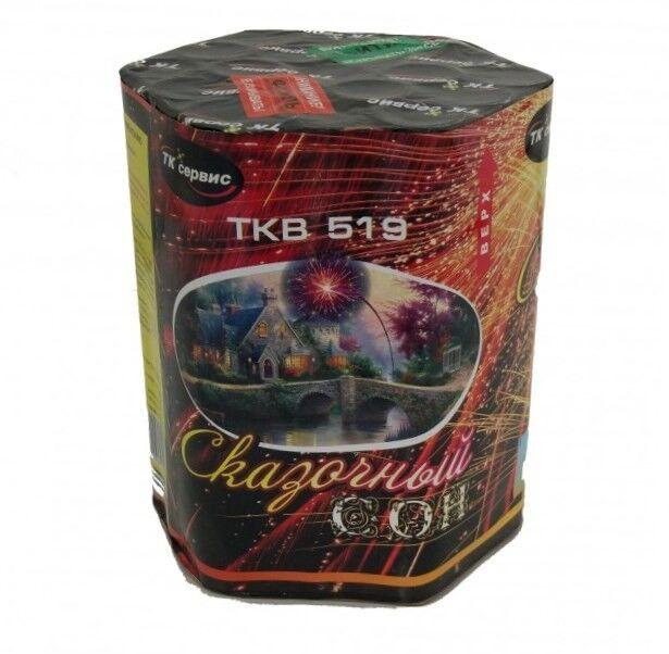 Фейерверк ТК сервис Батарея салютов «Сказочный сон» TKB519 - фото 1
