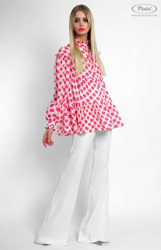 Костюм женский Pintel™ Комбинированный брючный костюм Fleurina - фото 2