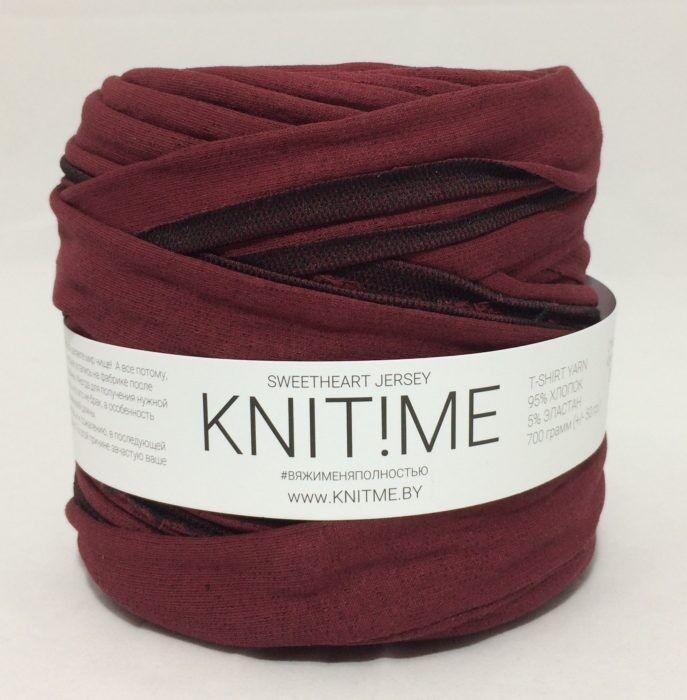 Товар для рукоделия Knit!Me Ленточная пряжа Sweetheart Jersey - SJ405 - фото 1