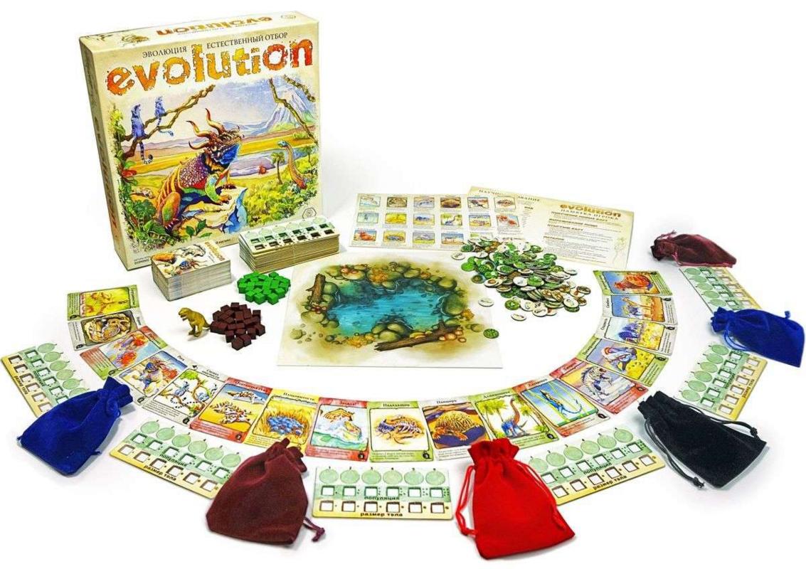 Подарок на Новый год Hobby World Настольная игра «Эволюция. Естественный отбор» - фото 2
