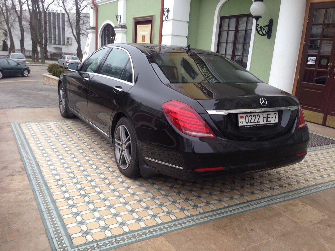 Аренда авто Mercedes-Benz W222 Лонг Черный - фото 4