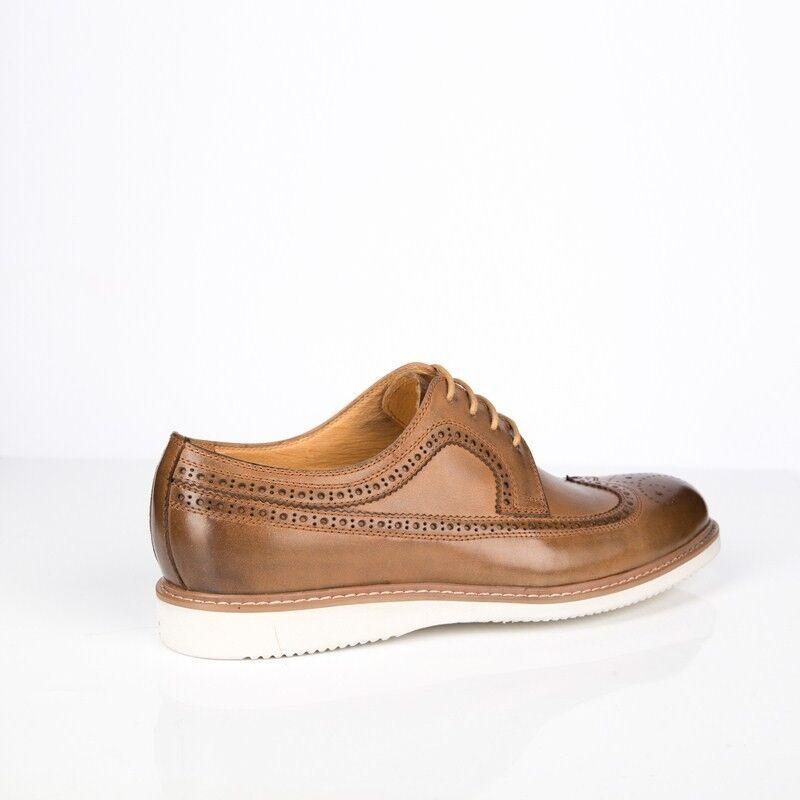 Обувь мужская BASCONI Полуботинки мужские 901F-3-3 - фото 2