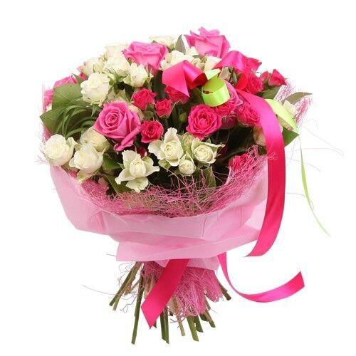 Магазин цветов Планета цветов Сборный букет №7 - фото 1