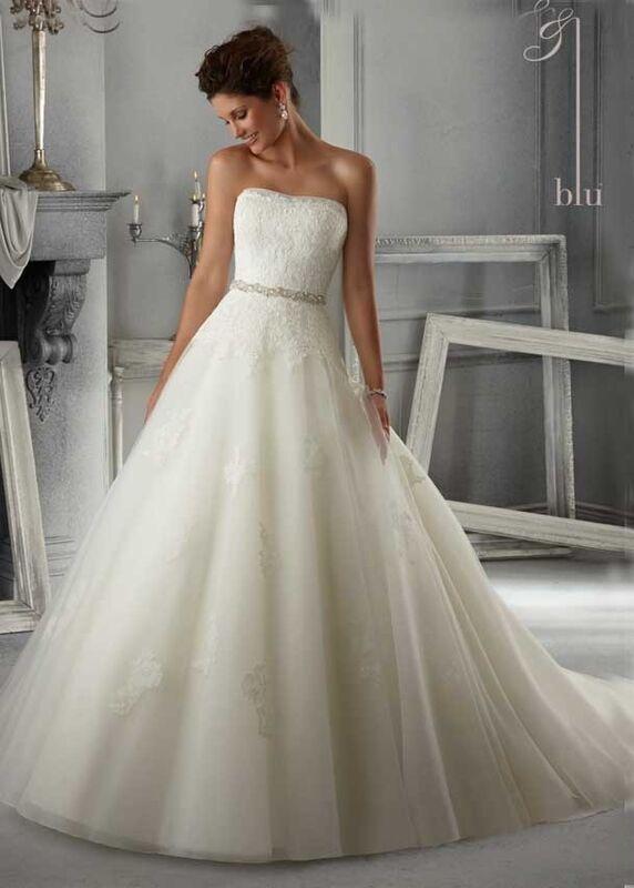 Свадебное платье напрокат Mori Lee Платье свадебное 5263 - фото 1