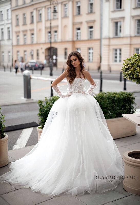 Свадебное платье напрокат Blammo-Biamo Платье свадебное The Rice  Irid - фото 1