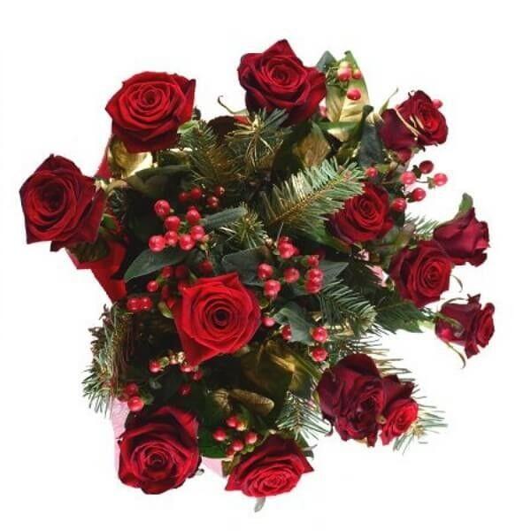 Магазин цветов Букетная Букет «Новогоднее Поздравление» - фото 2