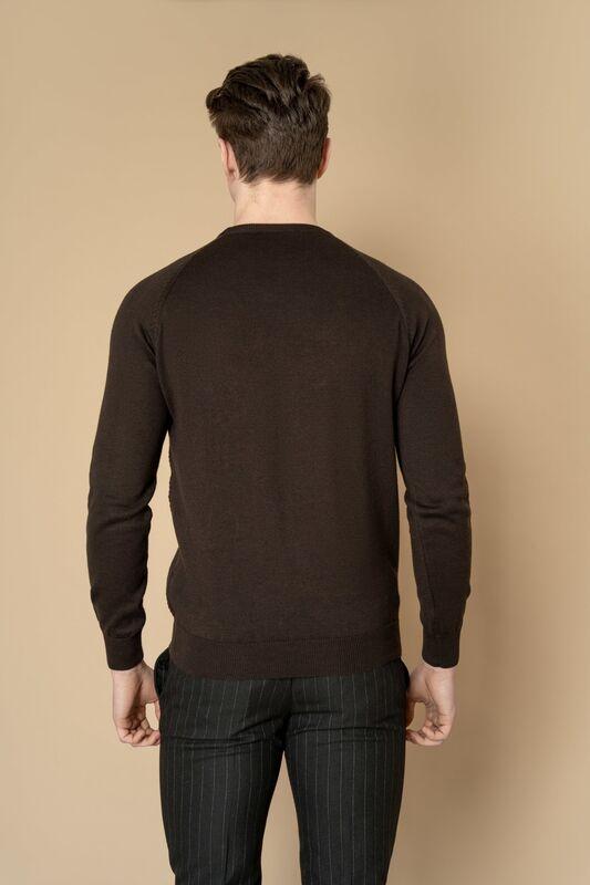 Кофта, рубашка, футболка мужская Etelier Джемпер мужской  tony montana T1031 - фото 6