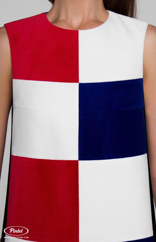 Платье женское Pintel™ Комбинированное мини-платье PATRÍCIA - фото 5