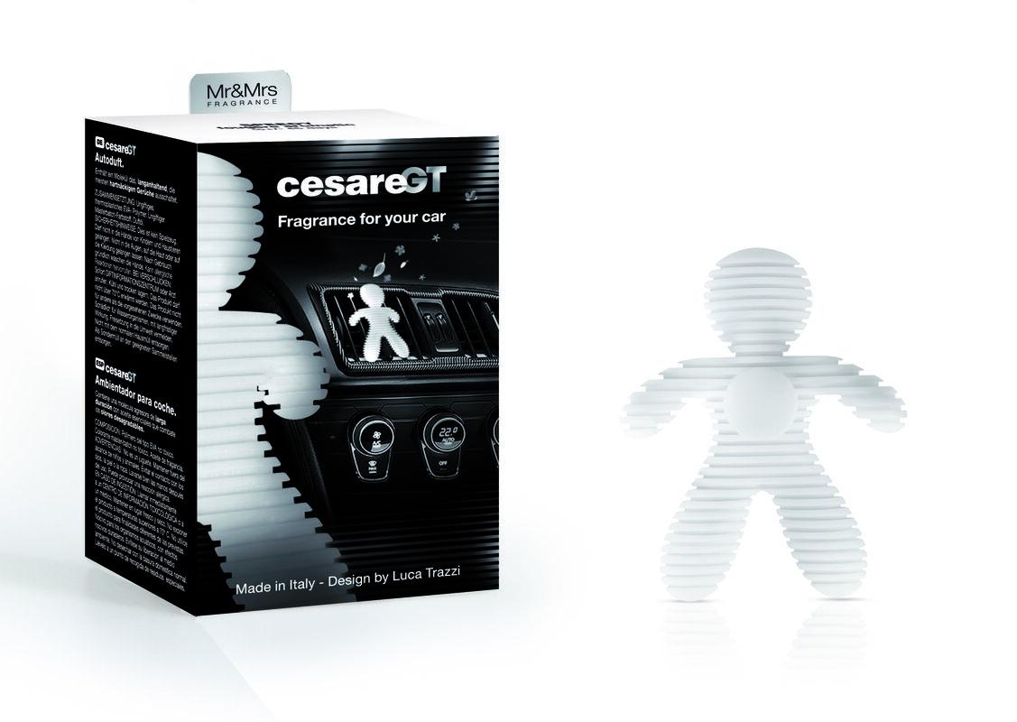 Подарок на Новый год Mr & Mrs Fragrance Ароматизатор воздуха для авто Cesare GT - фото 2