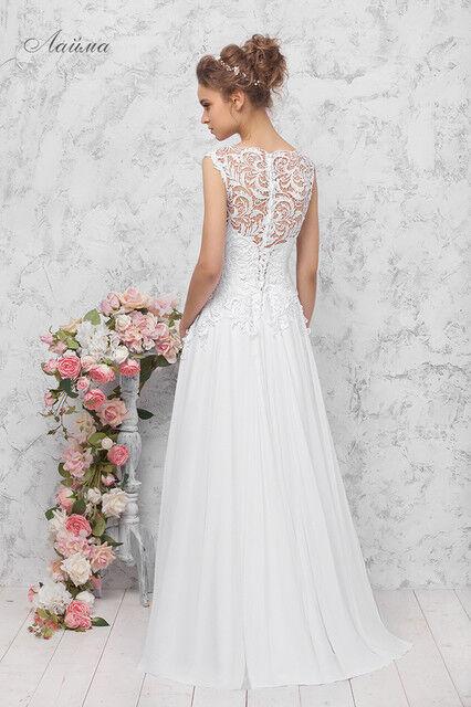 Свадебное платье напрокат Vintage Платье свадебное «Лайма» - фото 2