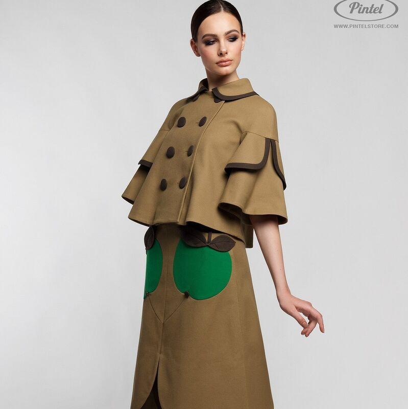 Костюм женский Pintel™ Костюм из плотного фактурного хлопка Amber - фото 1