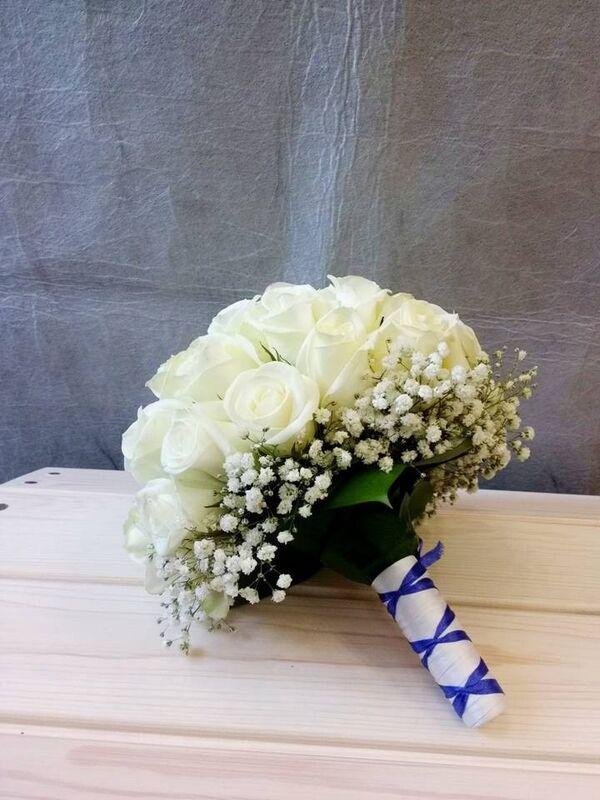 Магазин цветов VGosti.by Свадебный букет «Первая любовь» - фото 1