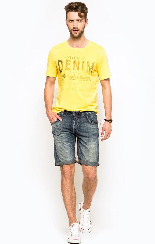 Кофта, рубашка, футболка мужская MUSTANG Футболка 8944 1603 930 - фото 3