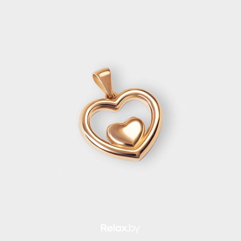 Ювелирный салон Белорусские Бриллианты Подвеска из золота41000004 - фото 1