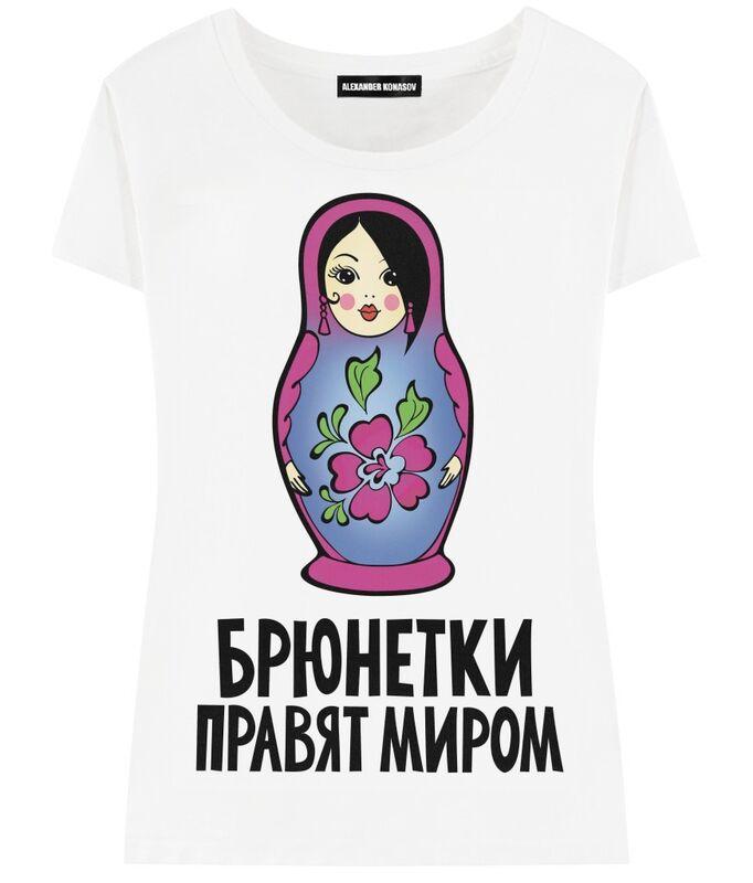 Кофта, блузка, футболка женская ALEXANDER KONASOV Футболка женская 13 - фото 1