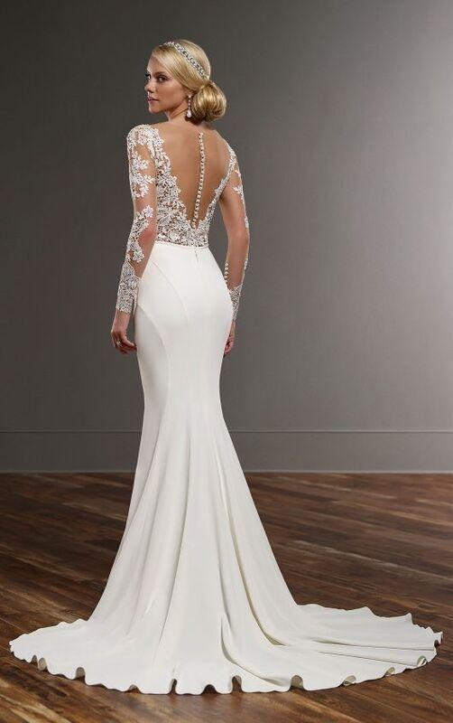 Свадебное платье напрокат Essense of Australia Платье свадебное Blake Sanja - фото 3