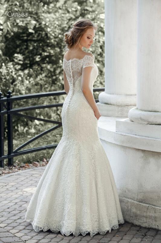 Свадебное платье напрокат Vintage Платье свадебное «Сильва» - фото 2
