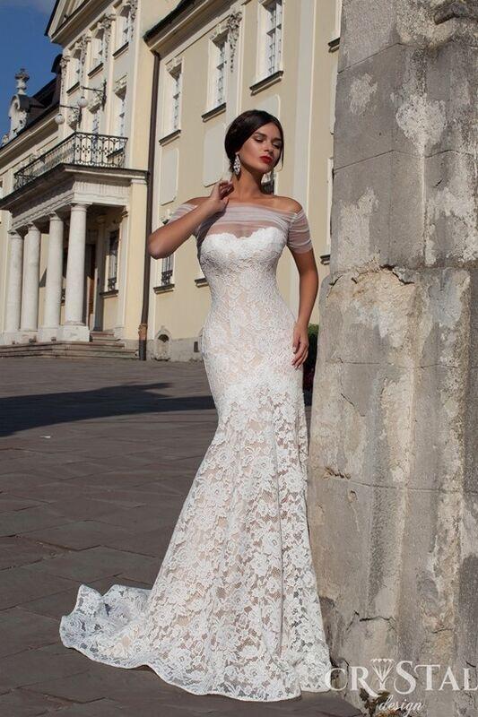 Свадебный салон Crystal Платье свадебное Bianca - фото 1