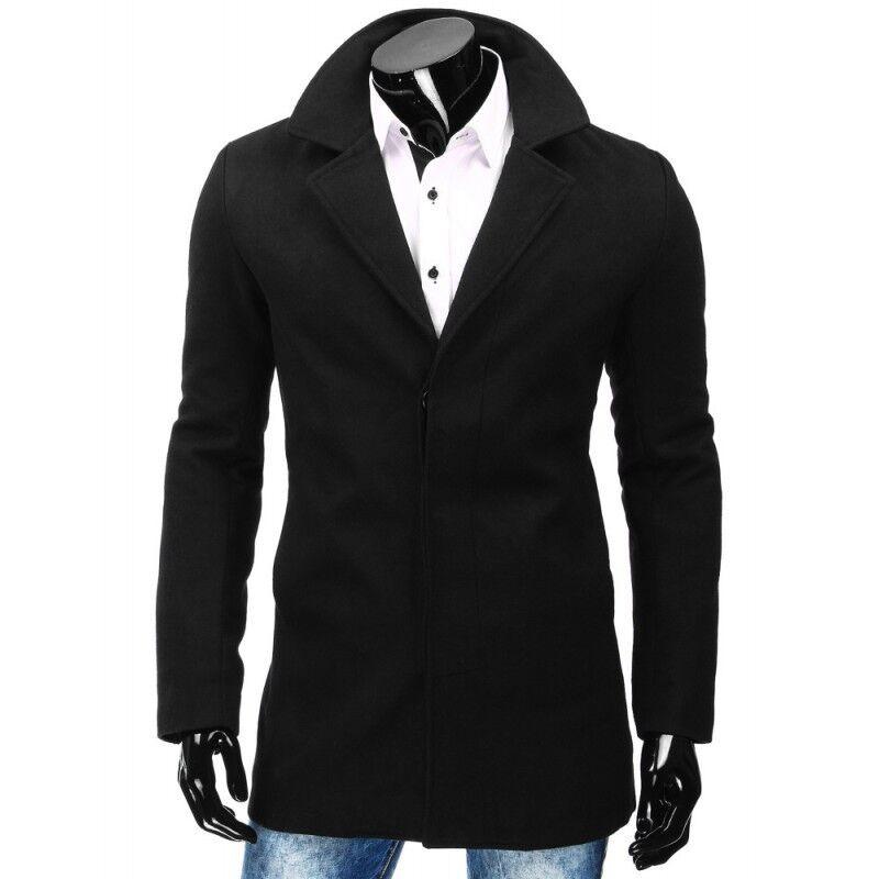 Верхняя одежда мужская Revolt Пальто Leo (черное) - фото 1