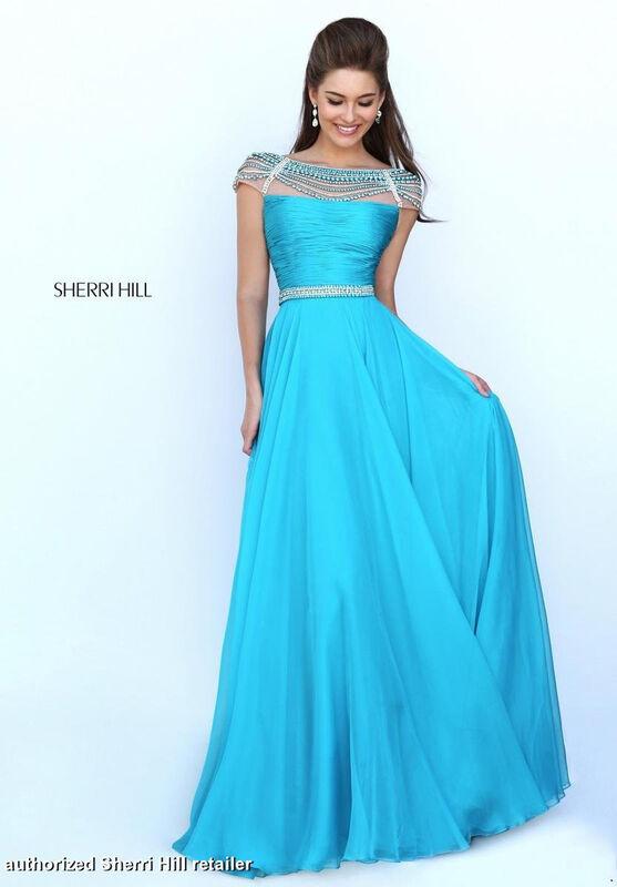 Вечернее платье Sherri Hill Платье вечернее 50414 - фото 1