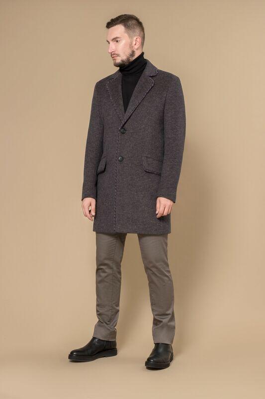 Верхняя одежда мужская Etelier Пальто мужское демисезонное 1М-8602-1 - фото 1