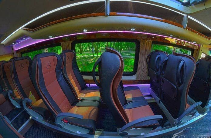 Аренда авто Mercedes-Benz Sprinter белого цвета - фото 3