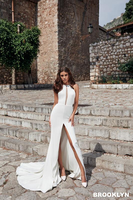 Свадебный салон Bonjour Galerie Свадебное платье BROOKLYN из коллекции BELLA SICILIA - фото 5
