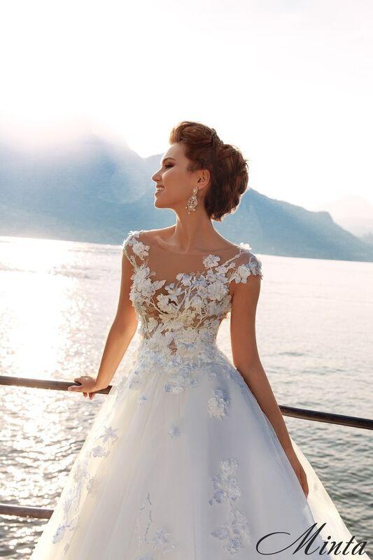 Свадебный салон Bonjour Galerie Свадебное платье Minta из коллекции Royal Luxury - фото 4