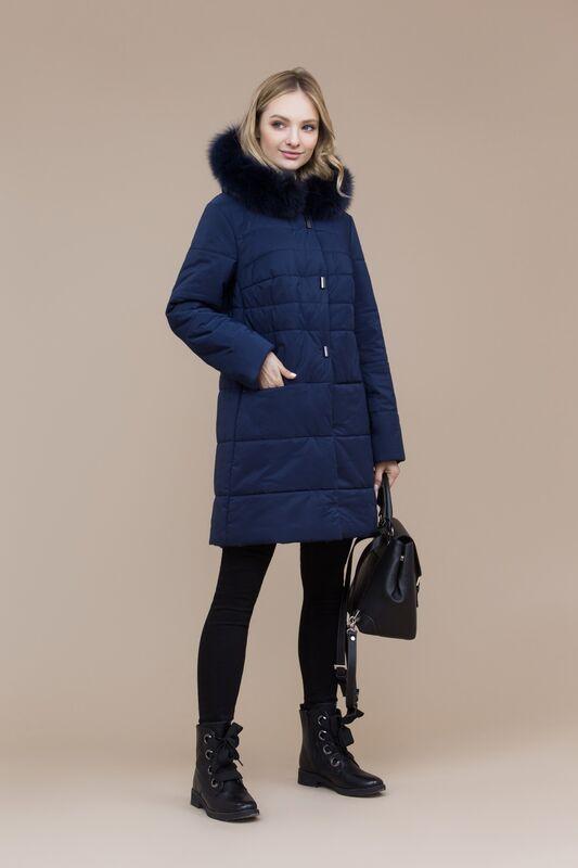 Верхняя одежда женская Elema Пальто женское плащевое утепленное 5-7298-1 - фото 1