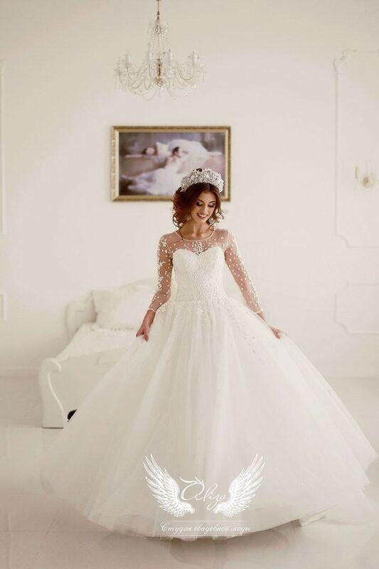 Свадебный салон ALIZA Свадебное платье «Confeti» Ameli Benya - фото 4