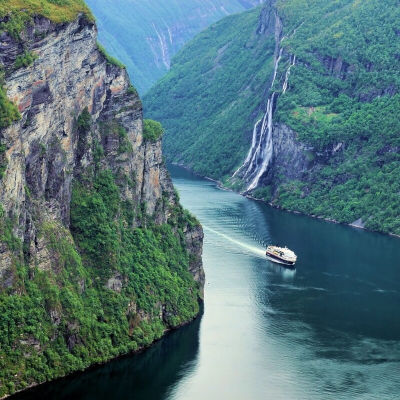 Туристическое агентство Боншанс VN - Гранд Тур по Норвегии - фото 1